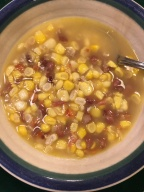 Corn and Red Bean Soup